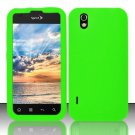Soft Premium Silicone Case for LG Marquee LS855/Optimus Black (Sprint/Boost) - Green