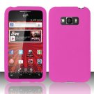 Soft Premium Silicone Case for LG Optimus Elite LS696 (Sprint) - Pink