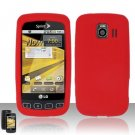 Soft Premium Silicone Case for LG Optimus S/U/V - Red