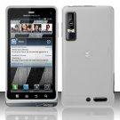 Hard Transparent Plastic Case for Motorola Droid 3 (Verizon)