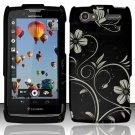 Hard Rubber Feel Design Case for Motorola Electrify 2 XT881 - Midnight Garden
