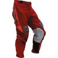 Troy Lee Designs SE motocross race pants size 28 adult color dark red
