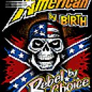 AMERICAN BY BIRTH-2X T-SHIRT