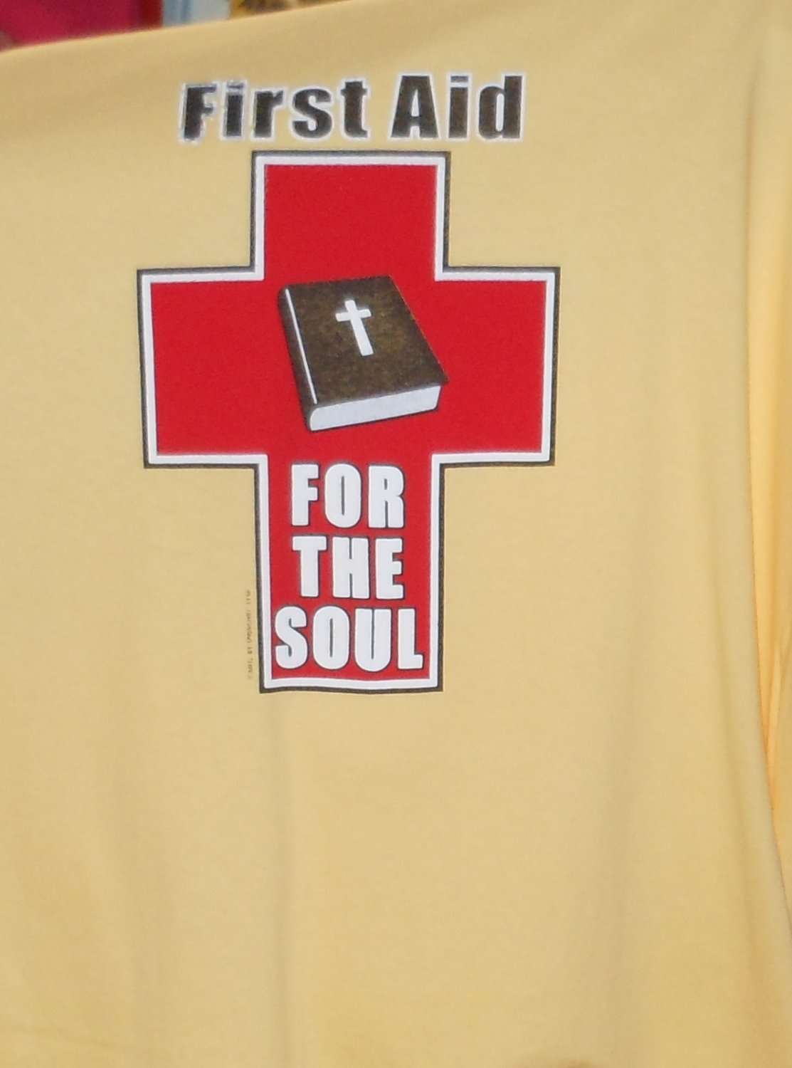 FIRST AID LARGE T SHIRT