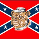REBEL BULLDOG FLAG
