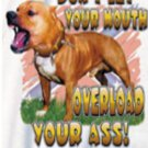 DONT LET YOUR MOUTH SMALL T-SHIRT