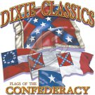 DIXIE CLASSIC FLAGS T-SHIRT  X LARGE