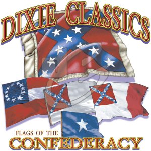 DIXIE CLASSIC FLAGS T-SHIRT  3X