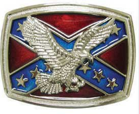 REBEL EAGEL BELT BUCKLE