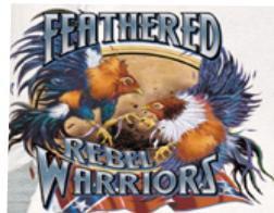 FEATHERED WARRIORS 2X WHITE T-SHIRT