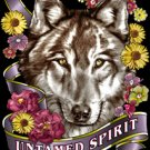 UNTAMED SPIRT LARGE T- SHIRT BLACK