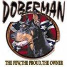 DOBERMAN  REBEL T-SHIRT ASH GRAY LARGE