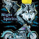 NIGHT SPIRTS T-SHIRT BLACK LARGE