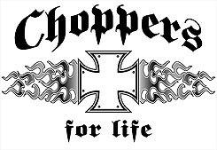 CHOPPER T-SHIRT ASH GRAY X-LARGE
