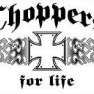 CHOPPER T-SHIRT ASH GRAY 2X
