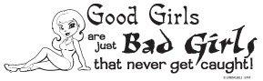BAD GIRLS T-SHIRT ASH GRAY SMALL