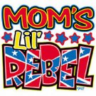moms lil rebel t-shirt 4t