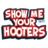 SHOW ME YOUR HOOTERS BABY 12 MONTH ONESIES