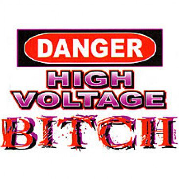 dange high voltage t-shirt small