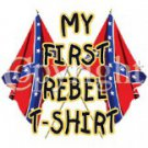 my first rebel t-shirt 2t
