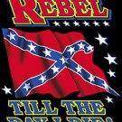 rebel til the day t-shirt large