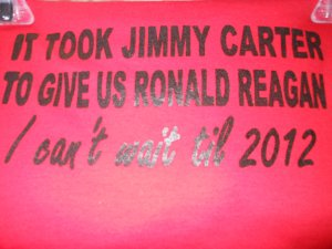 IT TOOK JIMMY CARTER T-SHIRT X-LARGE