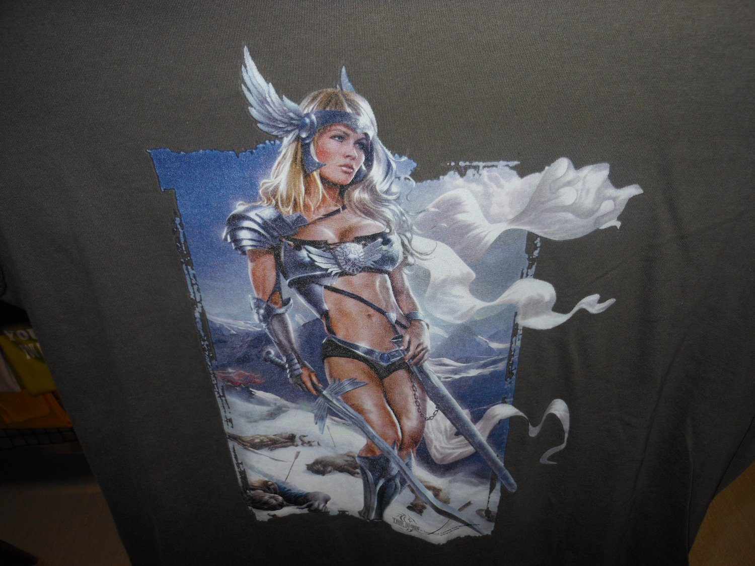 VIKING GODDESS T-SHIRT SMALL