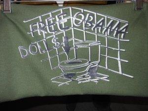 FREE OBAMA DOLLS T-SHIRT LARGE