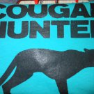 couger hunter t-shirt meduim