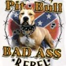 BAD ASS REBEL PITT T-SHIRT 2X