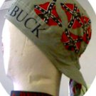 REBEL BUCK SKULL CAP