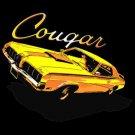 cougar car t-shirt med