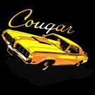 cougar car t-shirt xl