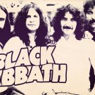 black sabbath t-shirt large