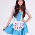 Alice in Wonderland Queen of Hearts Costume Medium