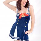 Sexy Navy Sailor Costume Medium