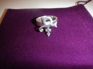 Prince Symbol Ring - 100% Sterling Silver