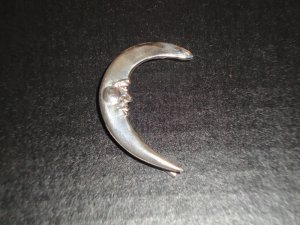 Prince Moon Wrap = 100% Sterling Silver