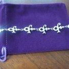Prince Symbol Link Bracelet - 100% Sterling silver