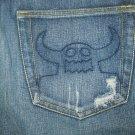 Toy Machine Ruffian Low RIse Jeans 34/32