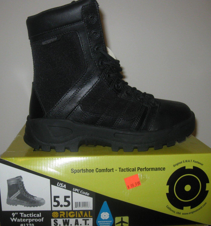 "9"" Tactical Waterproof - 1270   Size:  11.5"