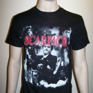 SCARFACE - Red Logo Graphic T-Shirt - L