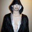 THUNDER - Boxing / MMA Robe - Black/White - Large