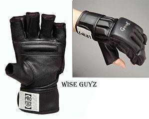 ProForce® Gladiator Wrist Wrap Grappling Gloves - S/M
