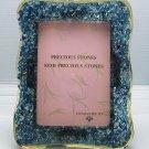 medium natural gemstone photo frame, picture frame