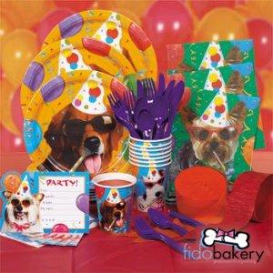 93 PIECE DOG PARTY KIT