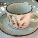 MIDWINTER Stonehenge Cups & Saucers . WILD OATS . England