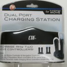 CTA Dual Port Charging Station for PlayStation Move Controllers