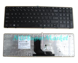 Black frame US HP ProBook 6560b 6565b laptop keyboard (With Point Stick)