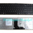 Black frame US HP EliteBook 8560p laptop keyboard (With Point Stick)